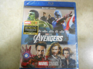 The Avengers  - Blu ray and Digital