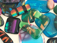 FUSED GLASS PENDANTS with Patricia Doyle (1 Class)