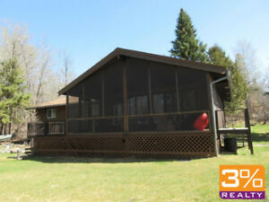 Cozy cottage on corner treed lot in Hillside Beach~ by 3% Realty