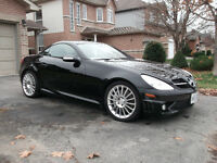 2005 SLK 55 AMG ONE OWNER -TRADE FOR MUSCLE CAR !!