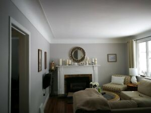 locally owned quality interior painting & wall repair