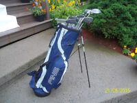 Men's Right Hand 12-pc Golf Clubs Set (Spalding Executive) & Bag