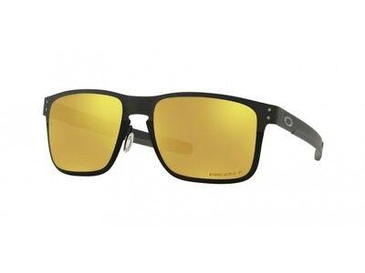 Sonnenbrille OAKLEY OO4123 HOLBROOK Metall prizm 24k polarisiert 412320