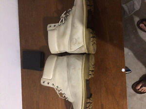 leather timberland boots for sale