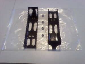 Brand New Can-Am Factory Footpegs - Powdecoated Black