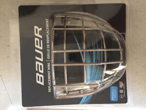 New Replacement Senior Goalie Cage (Bauer)