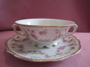 "ANTIQUE/VINTAGE ""BRIDAL ROSE"" Fine Bone China For Sale!"