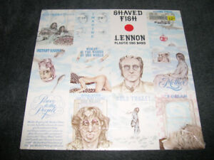 John Lennon (Beatles) - Shaved Fish (1975) RÉ 1978 LP Neuf