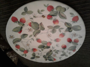 Made in england. Bone china plate. 15.00