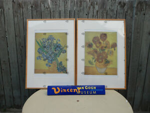 Large Vincent Van Gogh Prints Framed, $90 each. Both for $150. Prince George British Columbia image 1