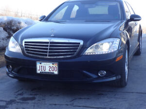 2008 Mercedes-Benz S-Class S550 AMG 4matic Sedan