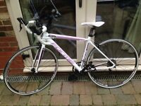 Womens forme road bike