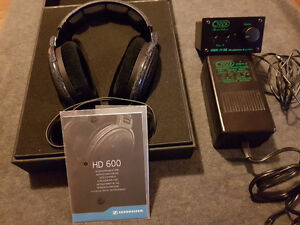 Sennheiser HD 600 With amplifier Creek OBH 11 Special Edition
