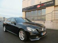 2013 Mercedes-Benz E-CLASS 2.1 E220 CDI AMG SPORT 4d 168 BHP Saloon Diesel Autom
