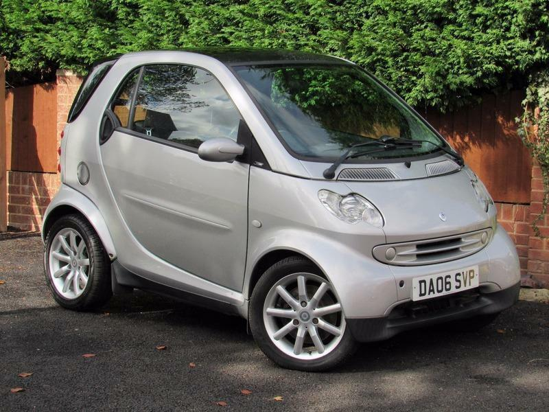2006 Smart ForTwo COUPE PASSION, SILVER, AUTOMATIC, PAN ROOF, ALLOYS