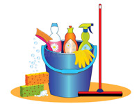 independent cleaning lady flat rates