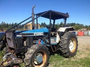 5640 Ford Forestry Tractor