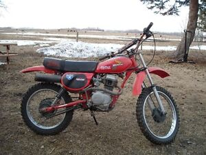 Honda XR80 Dirt Bike