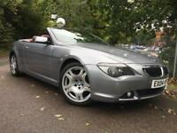 BMW 6 Series 645ci Convertible PETROL AUTOMATIC 2004/04