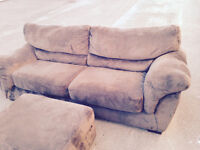 Very Nice couche with ottoman for quick sale!