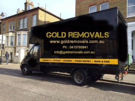 $34.99/PHH TRUCK AND 2 MEN GOLD LOCAL MOVERS REMOVALS IN PERTH