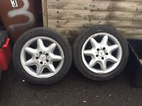 Mercedes wheels and alloys