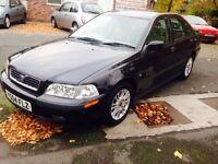 VOLVO S40 1.8 2004 AUTOMATIC LONG MOT ONLY £595