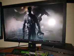 BenQ 24inch 1ms rl2455hm mlg official monitor  Windsor Region Ontario image 2
