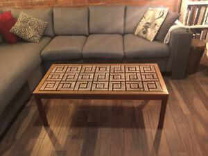 Mid Century Modern MCM Scandinavian Style Coffee Table