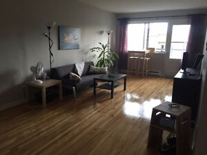Large 1 Bedroom Apt near Cote Vertu metro (SEPT FREE)