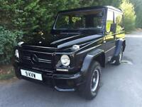 VERY RARE 1982 MERCEDES G-WAGEN 280 GE AUTOMATIC 4X4 - FULL AMG CONVERSION