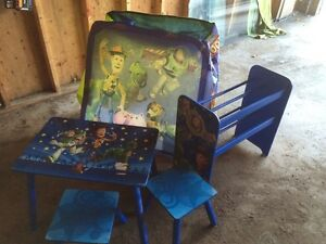 Toy story furniture and items