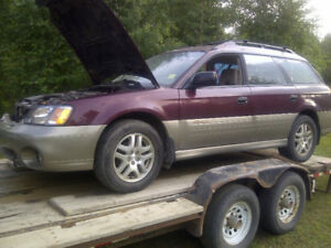 Parting 2000-2004 Legacy Outback