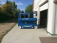 32 FT REACH ELECTRIC UPRIGHT X26N SCISSORLIFT VERY GOOD COND ..