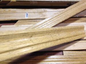 Solid oak casings / moldings and Base board Strathcona County Edmonton Area image 2