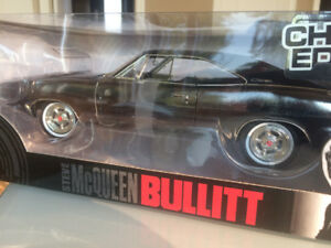 Bullitt Charger Chrome Diecast