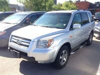 2006 Honda Pilot EX-L, leather, sunroof, certified and e-tested