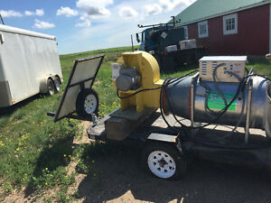 portable sukup grain dryer and fan