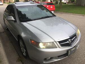 2005 Acura TSX Sedan- E tested