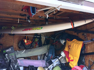 Selling Complete full windsurfing package for price or b.o.