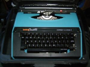 Brother Cassette Correct-O-Riter I Portable Electric typewriter