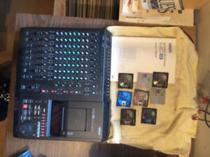 Yamaha MD8 digital 8 track recorder and mixer