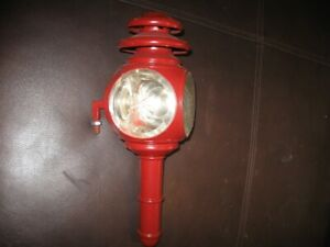 TWO ANTIQUE CAR/BUGGY LANTERN  $45 each