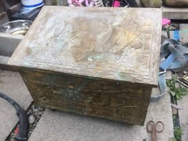 Coal or wood storage box