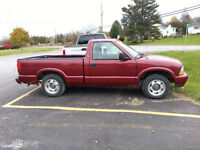1998 Chevy S-10, Saftied, Etested and Warrantied