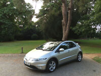 2008/08 Honda Civic 1.8i-VTEC ES 5 Door Hatchback Silver