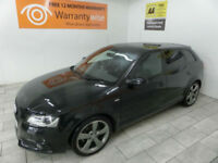 2012,Audi A3 2.0TDI 140bhp Sportback Black Edition***BUY FOR ONLY £50 PER WEEK**