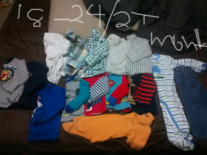 Baby boy clothes 18-24 months/2T