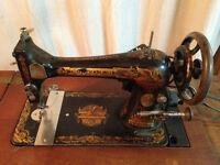 Machine à coudre Singer Antique 1899