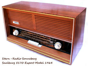 1964 Stern Sonneberg Saalburg 5170 Export All-Wave Radio